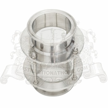 "Dioptr, Sight Tower, Sight glass 6"" - 8""  (154mm- 204mm), Stainless Steel 304."